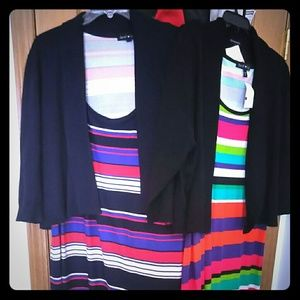 Dresses & Skirts - Two never worn maxi dresses and cardigan